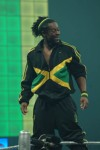 Kofi Kingston- Supposedly from Jamaica complete with terrible accent and Jamaican colors.