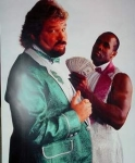 Virgil- Black Manservant to white wrestler Ted DiBiase.