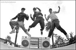 Hip Hop knows no color! Beastie Boys get loose!