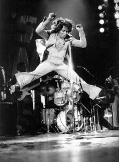 The Hardest working man in show business...James Brown