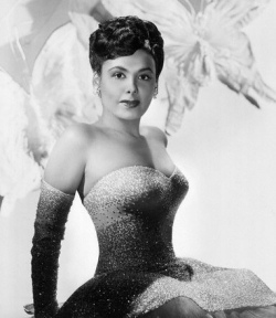 Beautiful Hollywood Starlet Lena Horne